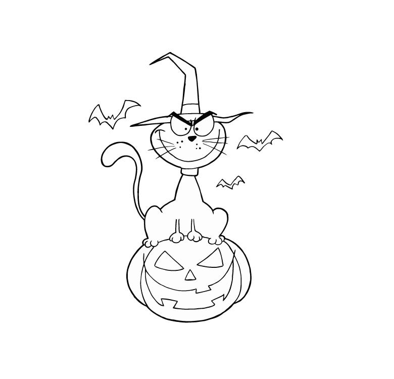 halloween doodle art activity
